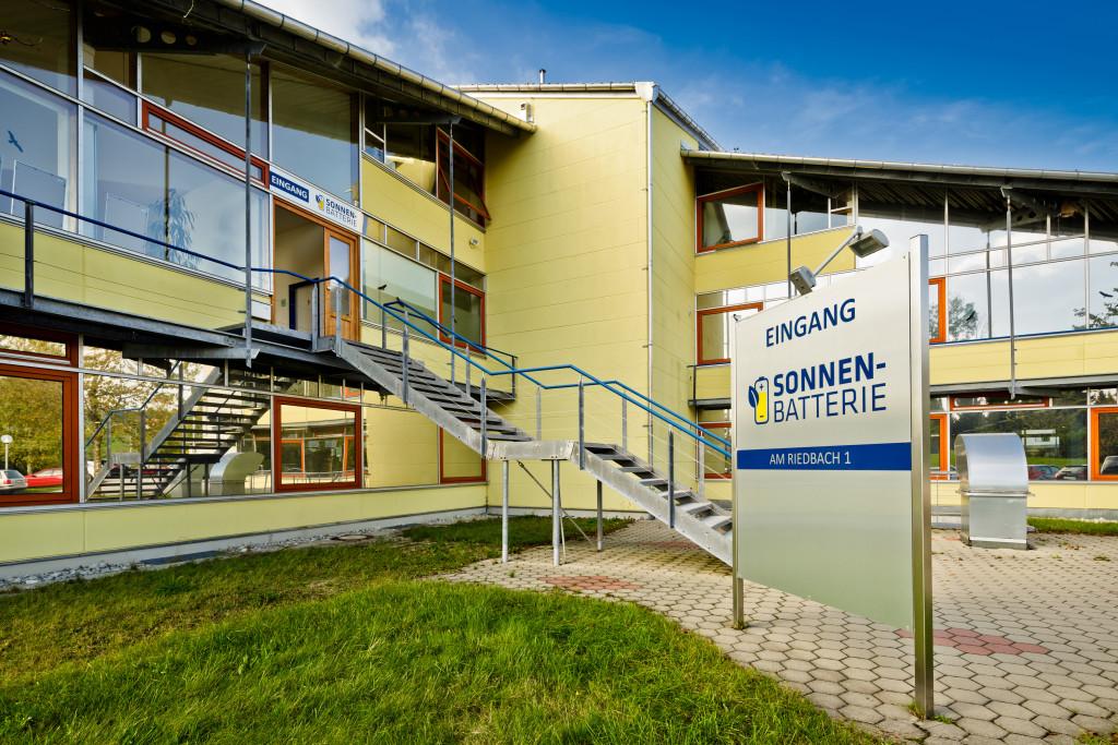 Sídlo Sonnenbatterie v německém Allgäu