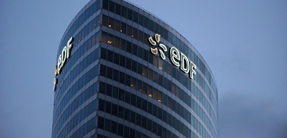 Budova vedení společnosti EDF v Paříži