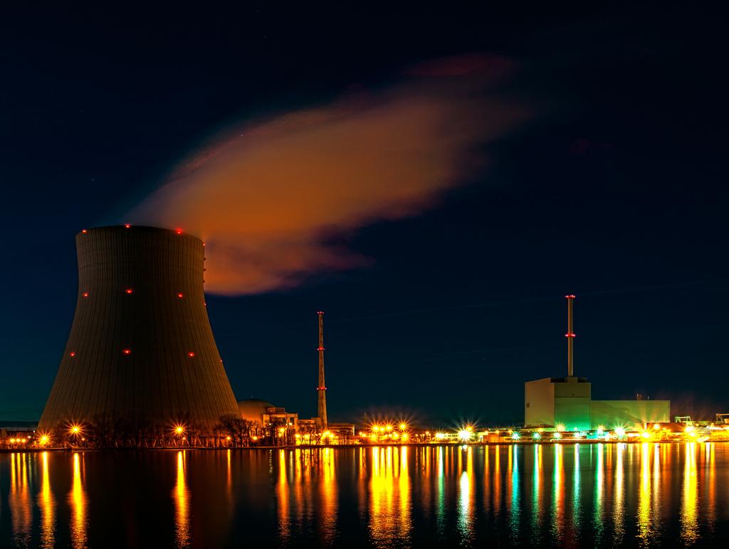Jaderná elektrárna Isar, Německo, Bavorsko. Autor: Bjoern Schwarz