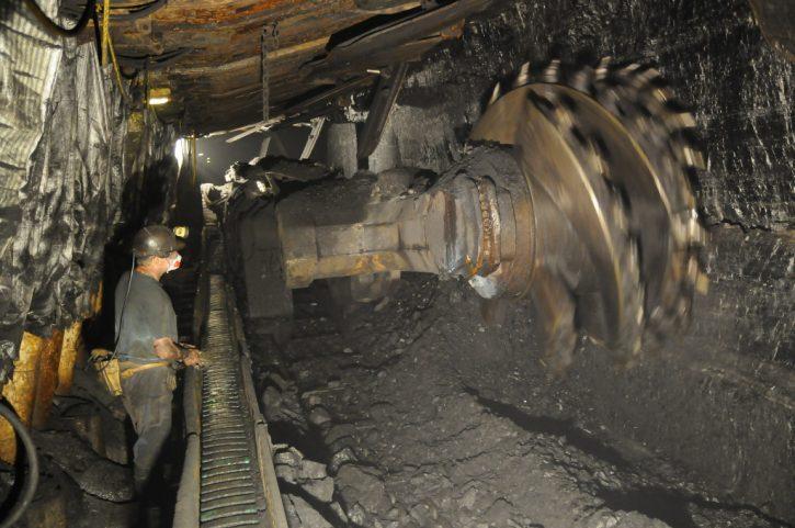 Těžba uhlí Polsko