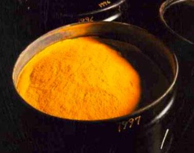 """Uranový """"žlutý"""" prášek, Zdroj: lanl.gov"""