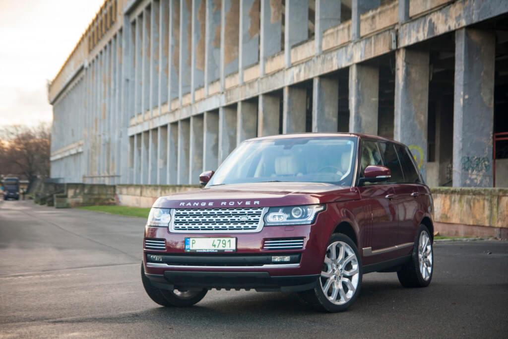 Range Rover Hybrid 2015 (foto: Tomáš Jirka)