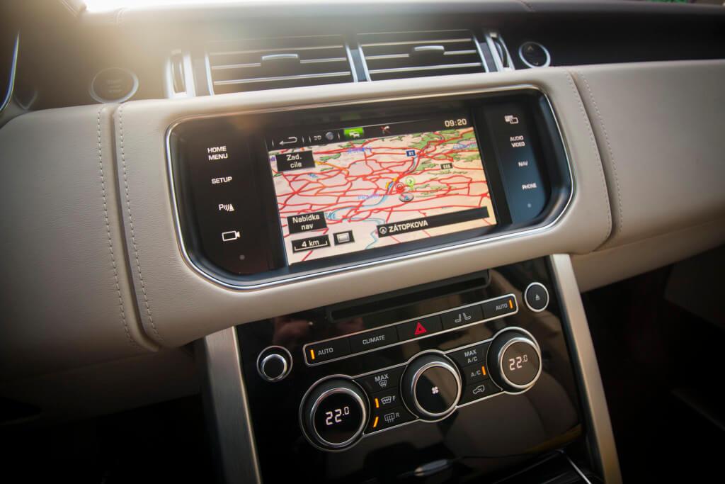 Range Rover Hybrid 2015 - Interiér