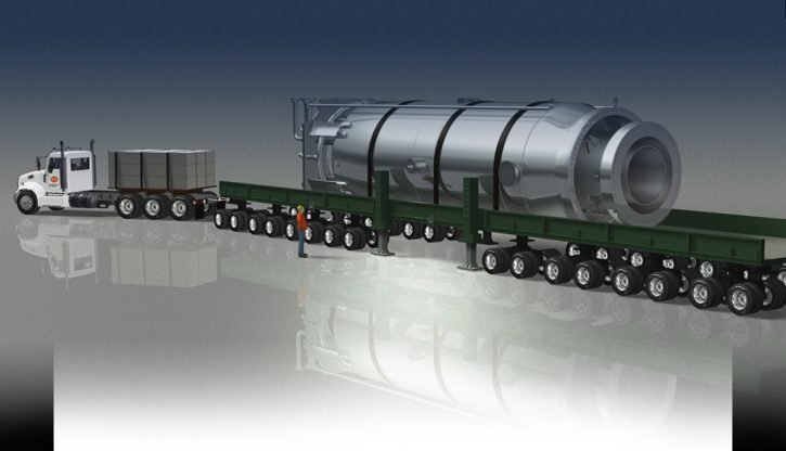 NuScale - přeprava modulu