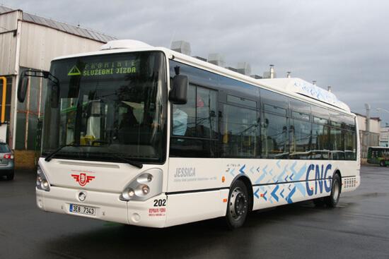 CNG autobus