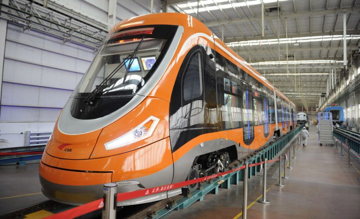 Vodíková tramvaj v Číně Zdroj Škoda Transportation