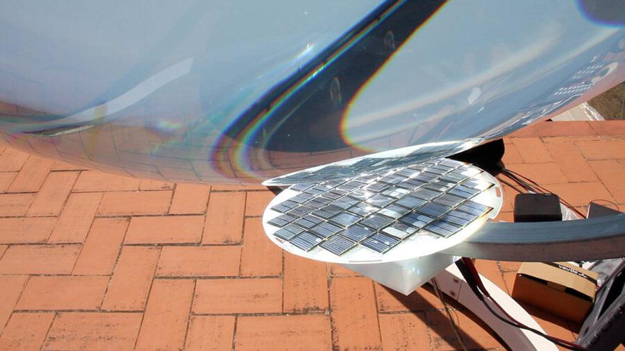 Detail fotovoltaické části. Zdroj: Rawlemon.com