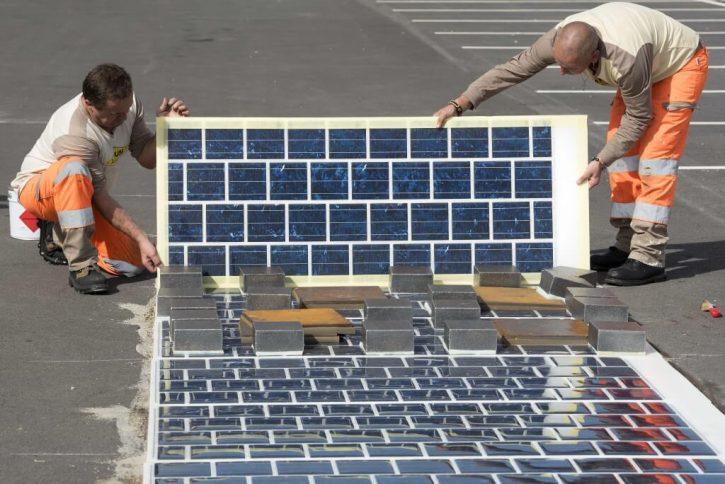 COLAS : Route solaire Wattway - © Joachim Bertrand / COLAS