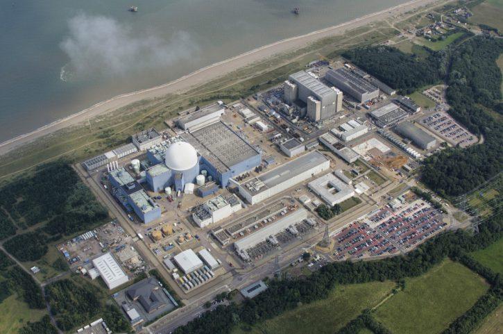 Jaderná elektrárna Sizewell, Velká Británie. Autor: John Fielding