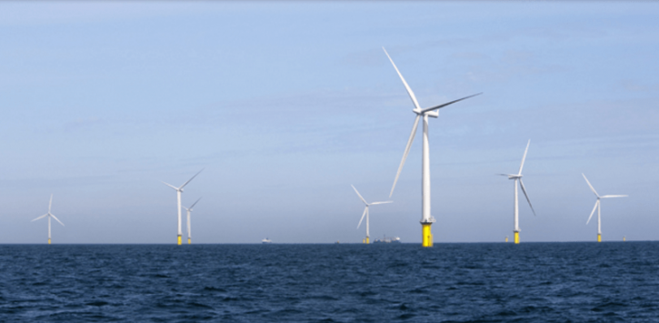 větrný park zdroj: Dong Energy
