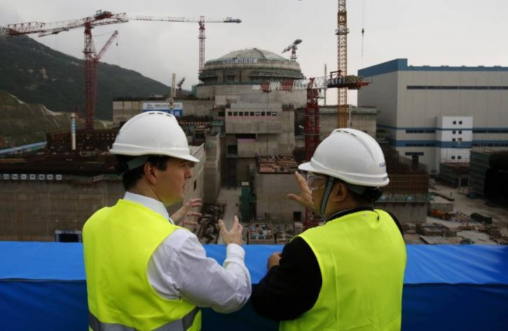 Osbourne in China Taishan nuclear power plant Zdroj: japantimes.co.jp