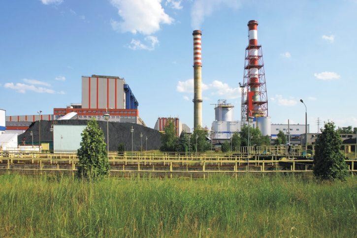 Uhelná elektrárna Ostroleka Polsko