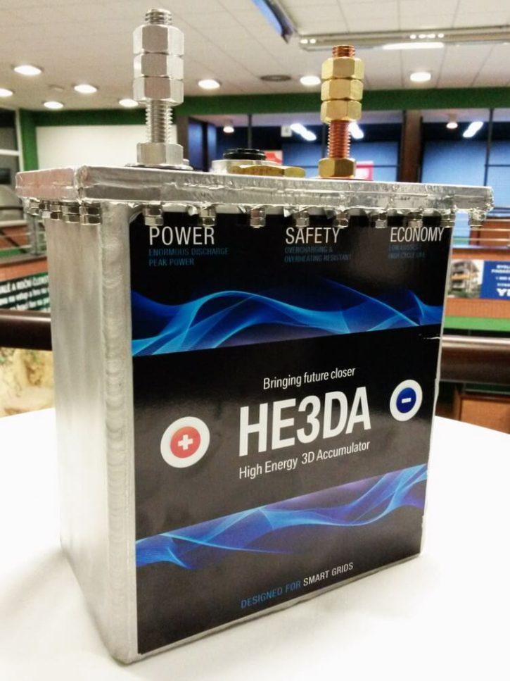 baterie he3da