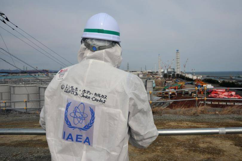 IAEA v oblasti Fukušima Daiči
