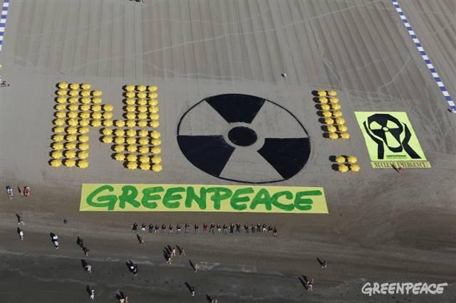Protesty Greenpeace; Zdroj: Greenpeace