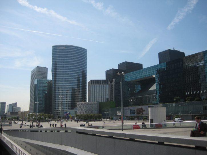 EDF sídlo, Francie. Autor: Guillaume Cattiaux