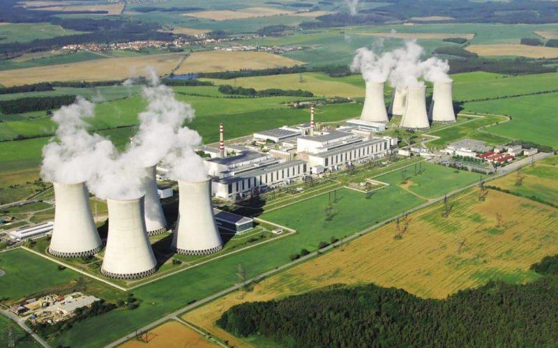 Jaderná elektrárna Dukovany je v provozu od roku 1985