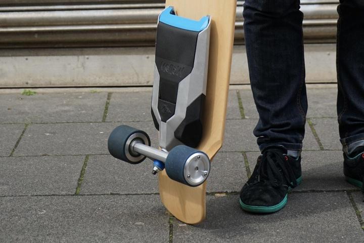 Elektrický systém montovatelný na skateboard - Mellow Drive. Zdroj: Mellow