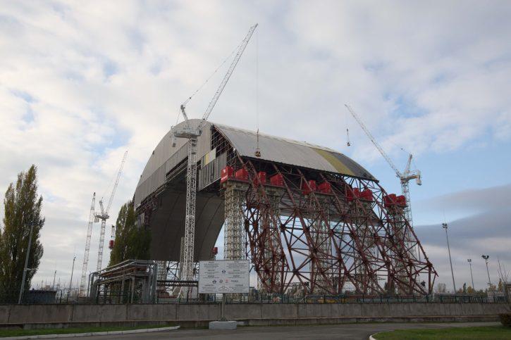 Sarkofág Černobyl