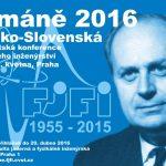 Šimáně 2016: Česko-slovenská konference jaderného inženýrství