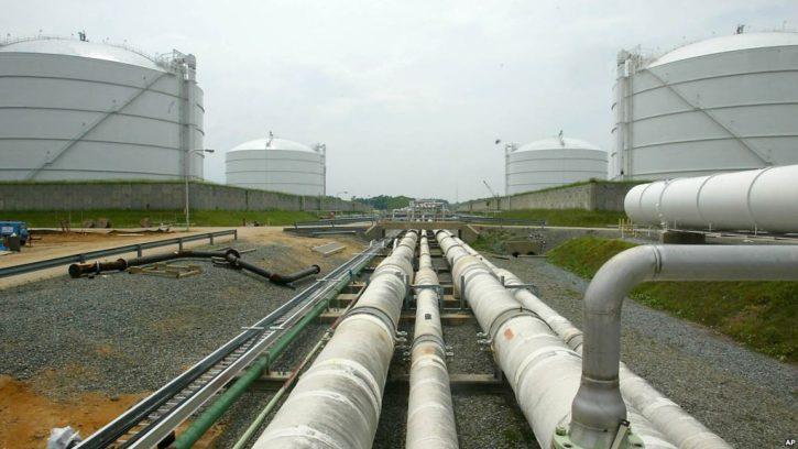 USA zemní plyn