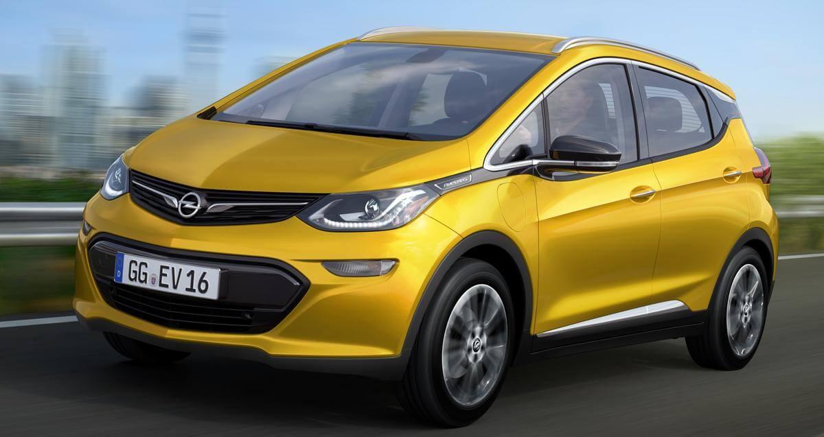 Opeal Ampera-e, Chevrolet Bolt pro Evropu s 60 kWh baterií, zdroj: automotorsport.se