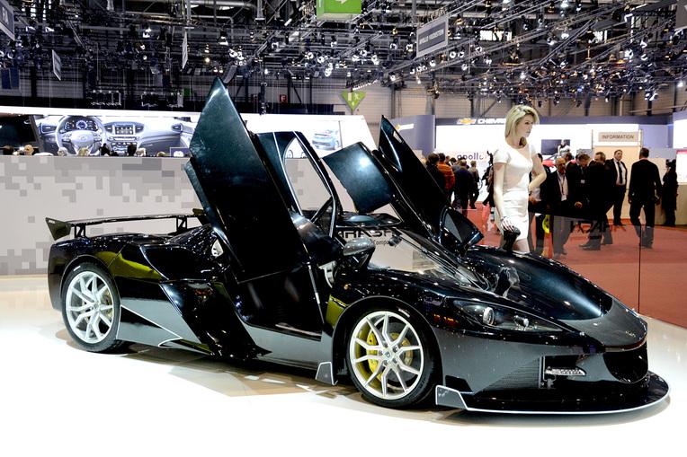 Arash AF10 na autosalonu v Ženevě 2016, zdroj: autofile.co.nz
