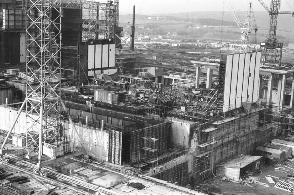 Výstavba EDU. Zdroj: ČEZ