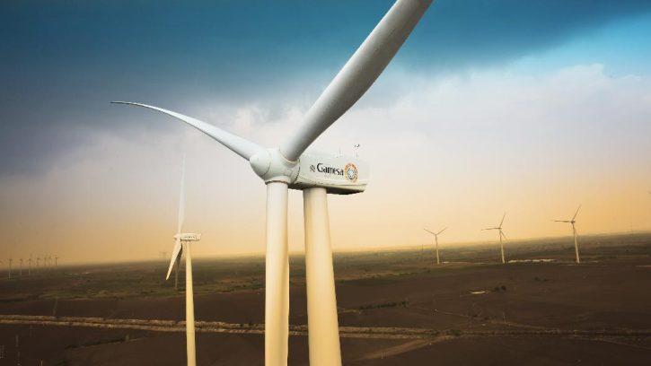 Gamesa větrné turbíny