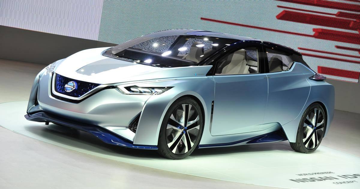 Koncept Nissan IDS, možný předobraz druhé generace Nissanu LEAF, zdroj: tf1.fr