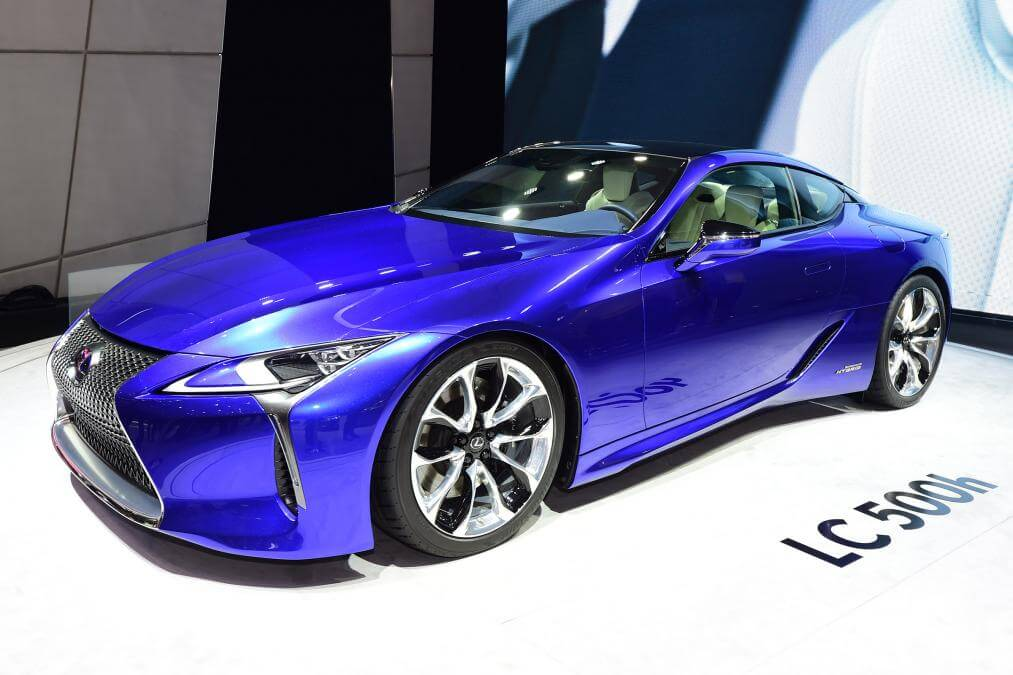 Hybridní supersport Lexus LC500h, zdroj: autoexpress.co.uk