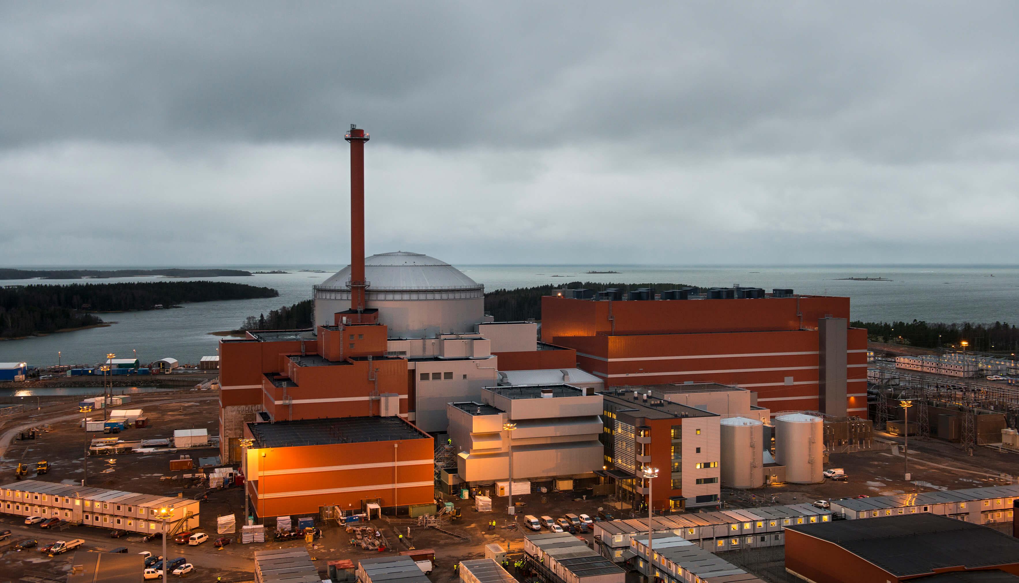 EPR reaktor Olkiluoto 3. Zdroj: TVO