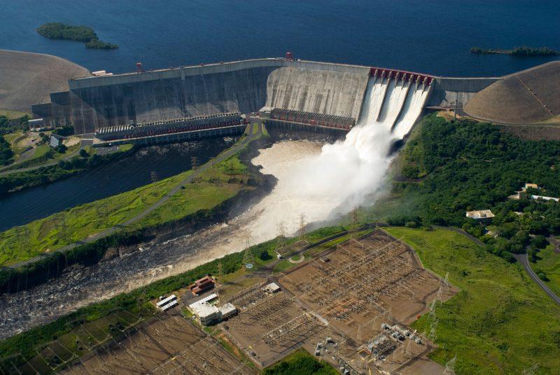 Vodní nádrž Simona Bolívara ve Venezuele (Guri dam), zdroj: net4info.eu