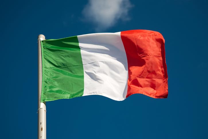 Itálie vlajka