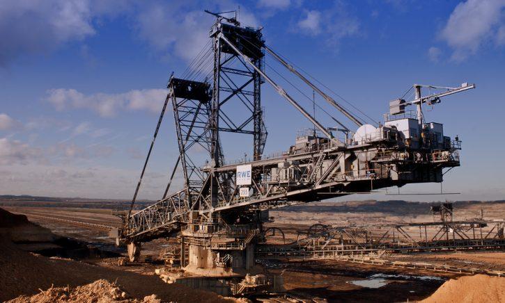 Těžba uhlí RWE
