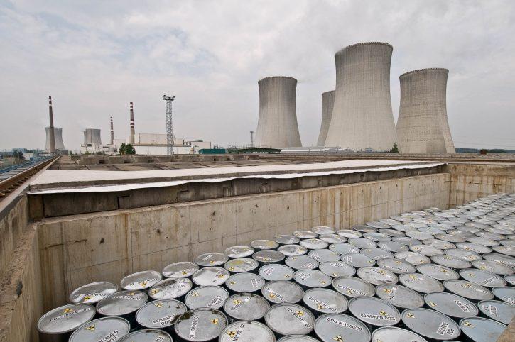 Úložiště nízkoaktivních jaderných materiálů EDU; Zdroj: Archiv EDU