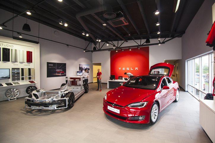 Tesla Store Göteborg, foto: Tomáš Jirka
