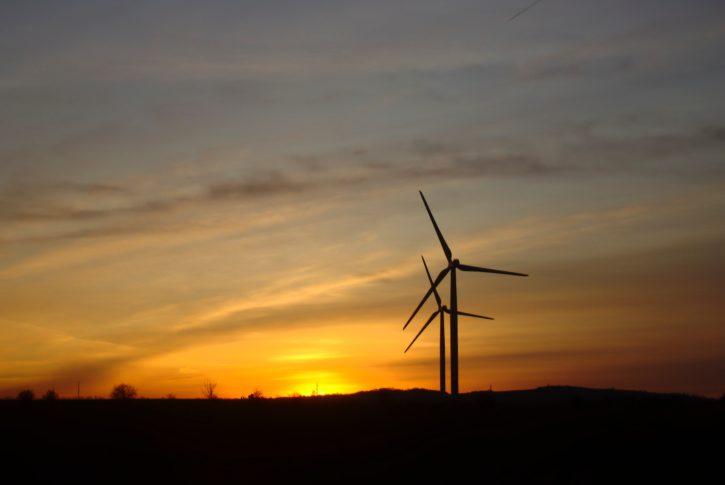 Větrná elektrárna Pchery