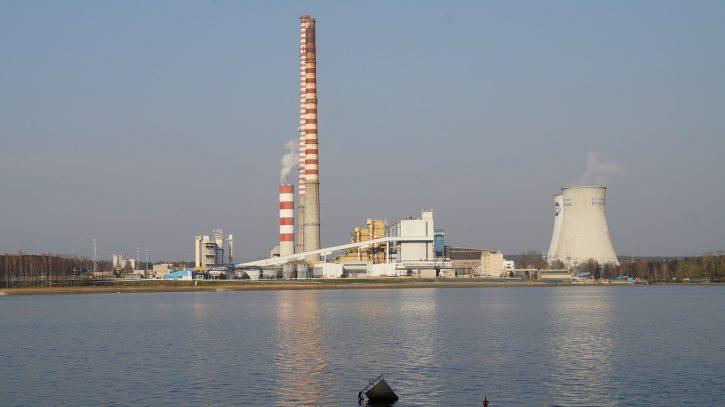 Uhelná Elektrárna Rybnik Polsko