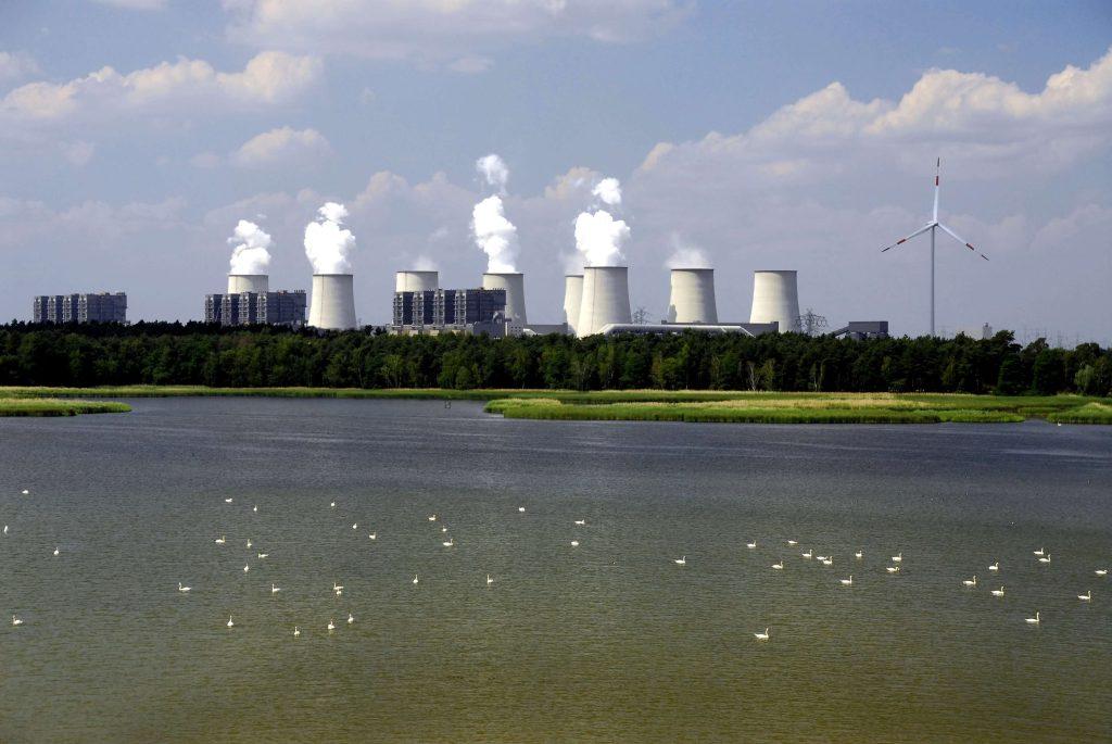 Největší německá hnědouhelná elektrárna Jänschwalde s instalovaným výkonem 3 000 MW