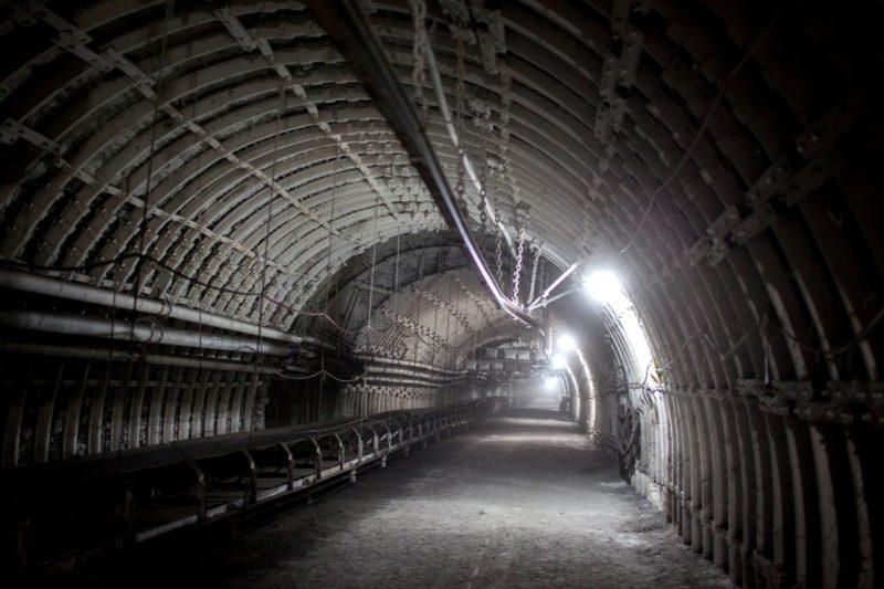 Nejdelší tunel v Česku propojující doly Karviná a Darkov