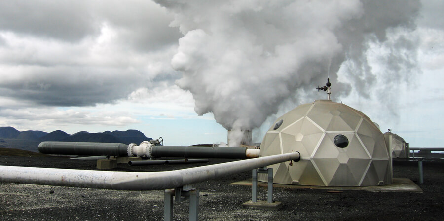 Geotermální elektrárna Hellisheidi