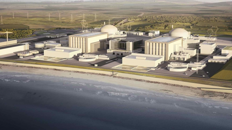 Hinkley Point C; Zdroj: EDF