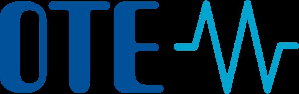 Logo společnosti OTE a.s.