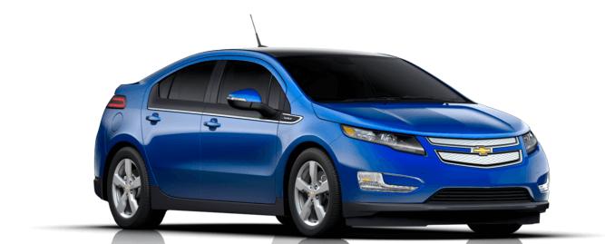 Chevrolet Volt, sériový hybrid