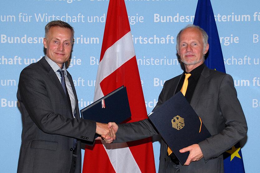 První dohoda byla uzavřena mezi Německa a Dánskem