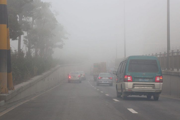 Nízká kvalita ovzduší je dle názoru mezinárodních organizací čtvrtým nejvážnějším důvodem předčasných úmrtí. Autor:ć�ľ éľ™