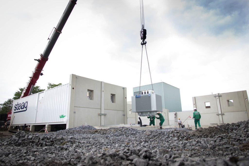 STEAG baterie 15 MW