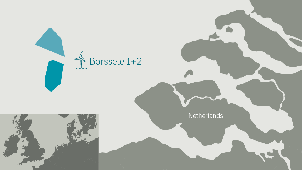 offshore větrné parky Borssele