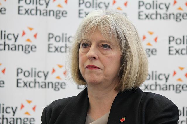 Theresa Mayová, která se 13. července stala premiérkou Spojeného království. Zdroj: Policy Exchange